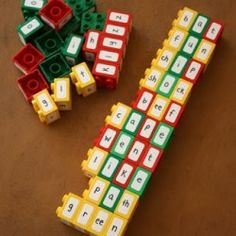 Looks like LEGOS are the manipulative that everyone needs this year! Check out these LEGO ideas. LEGO Letters Have students use re. Teaching Reading, Teaching Tools, Fun Learning, Word Reading, Teaching Spanish, Literacy Activities, Activities For Kids, Literacy Centers, Reading Centers