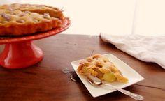 Honey, grape and rosemary tart / Tarte de mel, uvas e alecrim @mytinygreenkitchen