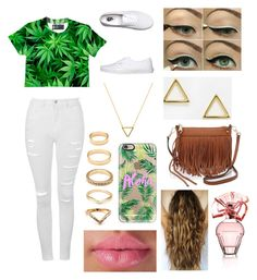 Summer! by mfgsoccer on Polyvore featuring polyvore, fashion, style, Topshop, Vans, Rebecca Minkoff, ASOS, Forever 21, Wanderlust + Co, Casetify and BCBGMAXAZRIA