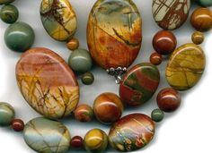 Red+Creek+Jasper+Beads+