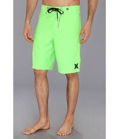 """NEW MEN'S HURLEY ONE & ONLY 22"""" NEON GREEN BOARD SHORTS US SIZE 33 NWT #Hurley #BOARDSHORT"""