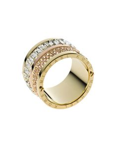 Multi-Stone Barrel Ring, Golden by Michael Kors at Neiman Marcus. I. Want. This.