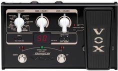 VOX StompLab II, Multieffekt f�r E-Gitarre, mit Pedal, Amp- und FX Modeling