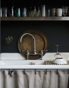 moody kitchen