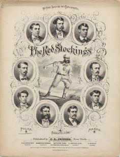 The Red Stockings sheet music, 1869. via @National Museum of American History, Smithsonian #baseball