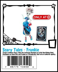 Scary Tales - Frankie Stein http://www.target.com/p/monster-high-scarily-ever-after-frankie-stein/-/A-14062612#prodSlot=medium_1_5=monster high