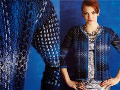 casaco verão crochet