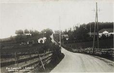 Akershus fylke Eidsvoll kommune Langseth ved Minnesund Utg Alf Toftner tidlig 1900-tall