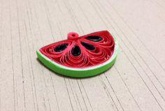 Quill art watermelon