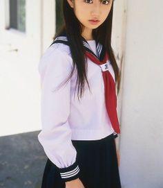 J609 Black White Navy Dress Cosplay Sailor Cotton Long Sleeves School Uniform | eBay