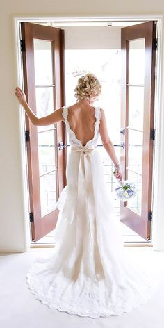 rustic lace bridal gowns 6 #ad