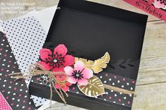 Crafts Bouquet: Stampin'Up Pop of Paradise Set of Cards and Box