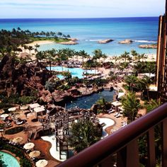 Disney Resort. View from room. #Hawaii #Aulani  http://instagr.am/p/IczWPspDcN/
