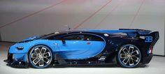 Bugatti Vision Gran Turismo Concept Side Profile - Provided by MotorTrend