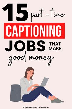 Looking for the best closed captioning jobs for beginners? Check out this list of companies with online captioning jobs that pay well. Typing Jobs From Home, Online Typing Jobs, Captioning Jobs, Reading For Beginners, Close Caption, Home Jobs, Check