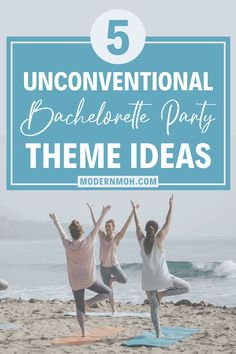 Say goodbye to those overused and outdated bachelorette party themes and check out our five fresh ideas for 2021 and beyond! #bachelorettepartythemes #bachelorettepartythemeideas #ModernMaidofHonor #ModernMOH Astrology Books, Bachelorette Party Planning, Maid Of Honor Speech, Songs To Sing, Weekend Is Over, Party Games, Broken Bow, Fresh, Check