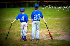 My brothers two friends on his team baseball pictures