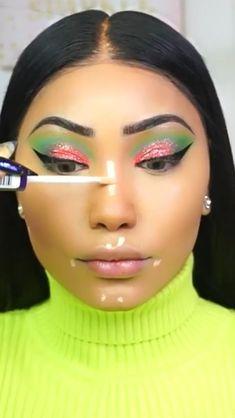 Dyi Makeup, Makeup Tips Eyeshadow, Glam Makeup, Beauty Makeup, Makeup Ideas, Brown Eye Makeup Tutorial, Wedding Makeup Tutorial, Wedding Day Makeup, Makeup Eye Looks