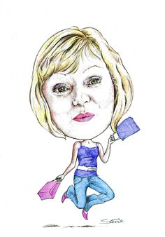 Caricatures: Visit the website: www.leadinyapencil.co.uk