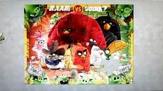 Angry Birds Puzzle Game Clementoni Ravensburger Rompecabezas de Jigsaw P...