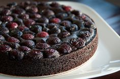 Chocolate Quinoa Cake.  Better than any flour cake.  As raved from everyone who has tasted.