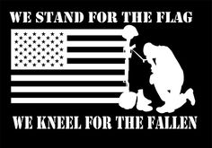 We Stand For The Flag & Kneel For The Fallen NFL JDM Vinyl Decal, You Pick the Color. These decals are custom made from high quality vinyl (U. Truck Stickers, Truck Decals, Vinyl Decals, Car Window Decals, American Flag Decal, Stencil Art, Wolf Stencil, Stencils, Nfl