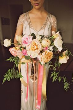bridal bouquet by Petals of Bliss - Anna Kim Photography