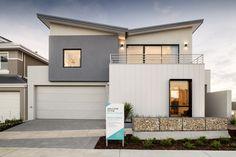 #elevation #home #twostoreyhome #skillionroof #modernhome #beachhouse #house