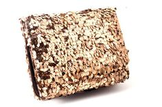 Bronze Sequins Clutch from Bead Boat / Rs.1990
