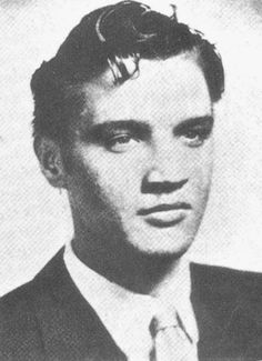 On this date in 1953, Elvis Presley graduates from L.C. Humes High School