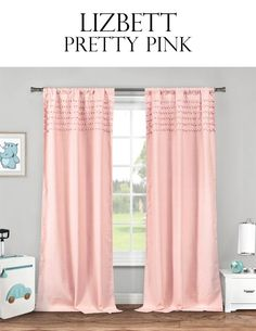 """Deal includes a set of 2 panels. Adeelah Solid colored curtain with ruffle trim Pole Top Measures 38x84"""" per panel Ahoy Sheer with metallic anchor pattern Pole Top Measures 38X84"""" per panel Aveline Sheer with pompom trim Pole Top Measures 38X84"""" per panel Becca Sheer with metallic clover pattern Pole Top Measures 38X84"""" per panel Lizbett Solid with rows of pompoms Available in 4 colors Pole Top Measures 38X84"""" per panel Sandie Sheer with metallic flamingo pattern Pole Top Measures 38X84"""" per…"""