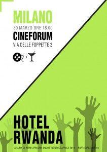 Hotel Rwanda, Cineforum Ritmi Africani Onlus , Milano