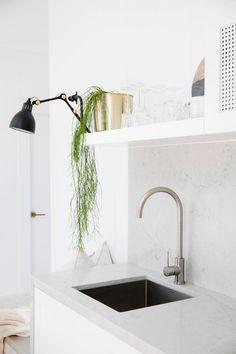 Bonnie's Dream Home - Guest Cottage Kitchen - Kitchen Tapware - Kitchen Styling
