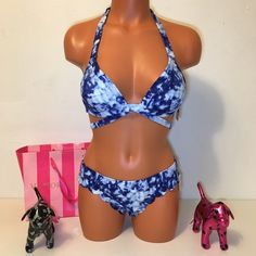 NEW PINK VS STRAPPY SWIMSUIT PINK Victoria's Secret  SWIMSUIT PADDED PUSH UP STRAPPY TOP WITH MATCHING SCALLOPED BOTTOM!!!  BEAUTIFUL SET!!!!  COLOR MULTICOLOR  SIZE  S   FAST SHIPPING!!!✅✅✅   Check out my other items! I am sure you will find something that you will love it! Thank you for watch!!!!!  Be sure to add me to your favorites list! @Blessboom PINK Victoria's Secret Swim Bikinis