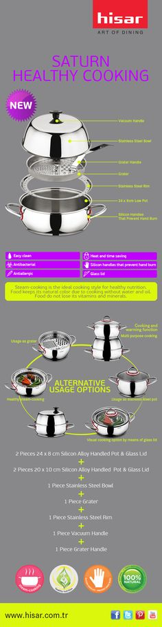 Hisar - SATURN (Cooking Set for Healthy Life)
