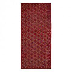 Doris Leslie Blau Antique Beshir Wool Runner - 7 5 x15 9