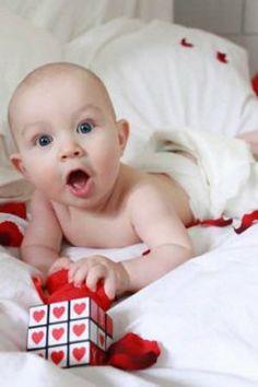 ideas para fotos de tu beb en san valentn