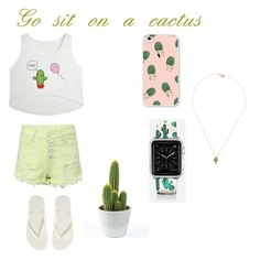 Designer Clothes, Shoes & Bags for Women Casetify, Cactus, Shoe Bag, Polyvore, Stuff To Buy, Shopping, Collection, Design, Women