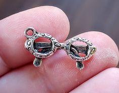 SET OF 6 Aviator CHARMS Enamel For Bracelet Earrings Necklace C8 Adventure