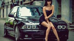 BMW E39 5 series black