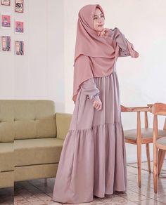 Muslim Women Fashion, Islamic Fashion, Modest Fashion, Women's Fashion Dresses, Hijab Fashion, Modest Dresses, Modest Outfits, Dress Outfits, Maxi Dresses