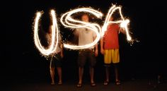 Point 'n' shoot / DSLR tips on how to take sparkler photographs for the 4th of July - One good thing by Jillee