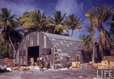 WWII US Navy Reenactors