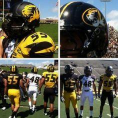 4-14-12 :)  New Mizzou uniforms...Welcome to the SEC!