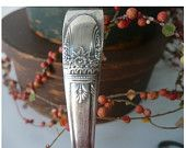 ...wonderful 'stuff' from this etsy shop... Whimzies ... Vintage Baby Spoon Silverplate Rogers Brothers Silver Child Edwardian