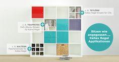#Kallax #Regal Ausstattung von #New #Swedish #Design // Kallax #shelf equipment - products of New Swedish Design