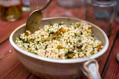 Couscous Salad With Dried Apricots and Preserved Lemon Recipe - NYT Cooking