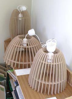Decorative lighting design on Behance Lamp Design, Wood Design, Lighting Design, Laser Cut Lamps, Laser Cut Wood, Lampe Laser, Blitz Design, Diy Luminaire, Wood Lamps