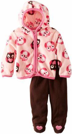 Amazon.com: Vitamins Baby-Girls Newborn Owl Girl Pant Set: Clothing