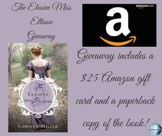 """Debbie's Dusty Deliberations : """"The Elusive Miss Ellison"""" by Carolyn Miller Book Tour and GiveAway Caroline Miller, Georgette Heyer, History Classroom, Scottish Castles, Fictional World, Happy Reading, English Literature, The Rev, Amazon Gifts"""